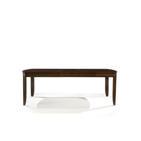 Legacy Boulevard Rectangular Leg Table In Warm Cognac