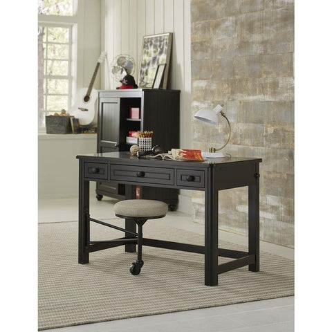Legacy Crossroads Activity Table/Desk in Midnight Black