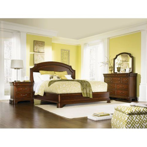 Legacy Evolution 3 Piece Platform Bedroom Set in Mahogany