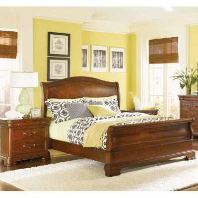 Legacy Evolution 3 Piece Sleigh Bedroom Set in Mahogany