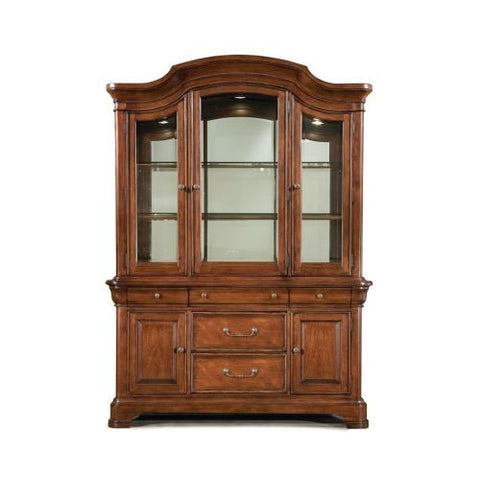Legacy Evolution Buffet w/Hutch in Mahogany