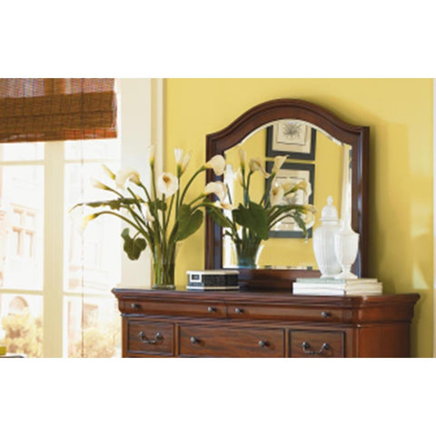 Legacy Evolution Dresser Mirror In Rich Auburn