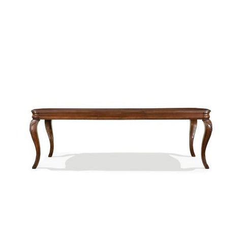 Legacy Evolution Extension Rectangular Leg Dining Table in Mahogany