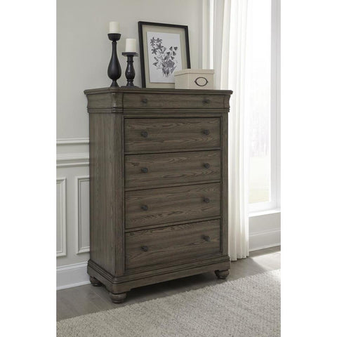 Legacy Hartland Hills Drawer Chest in Weathered Elm