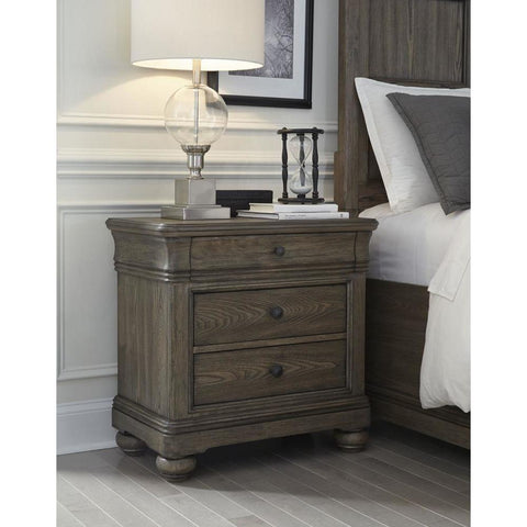Legacy Hartland Hills Nightstand in Weathered Elm