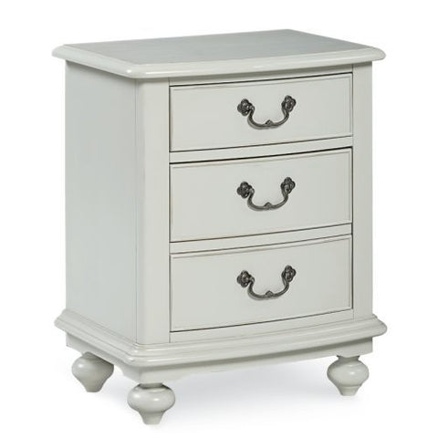 Legacy Inspirations 2 Drawer Nightstand in White