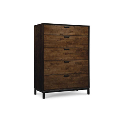 Legacy Kateri Drawer Chest In Hazelnut And Ebony