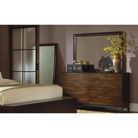 Legacy Kateri Dresser In Hazelnut And Ebony