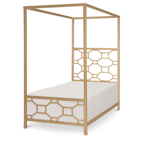 Legacy Rachael Ray Chelsea Metal Canopy Bed