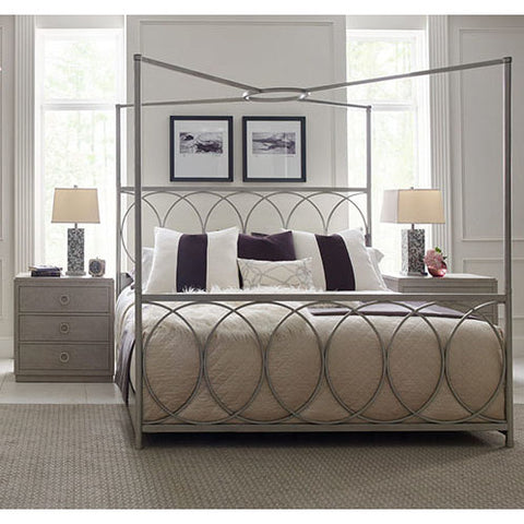 Legacy Rachael Ray Cinema 3 Piece Metal Canopy Bedroom Set