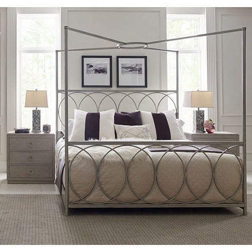 Legacy Rachael Ray Cinema 3 Piece Metal Canopy Bedroom Set Beyond