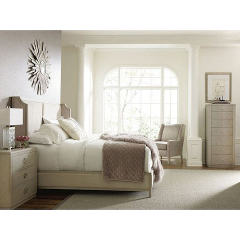 Legacy Rachael Ray Cinema 3 Piece Panel Bedroom Set in Shadow Grey