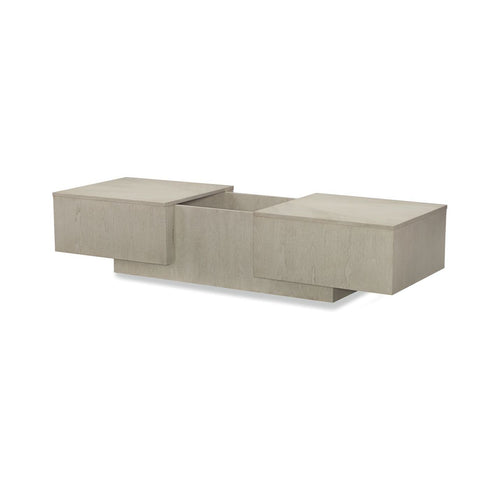 Legacy Rachael Ray Cinema Sliding Top Cocktail Table in Shadow Grey