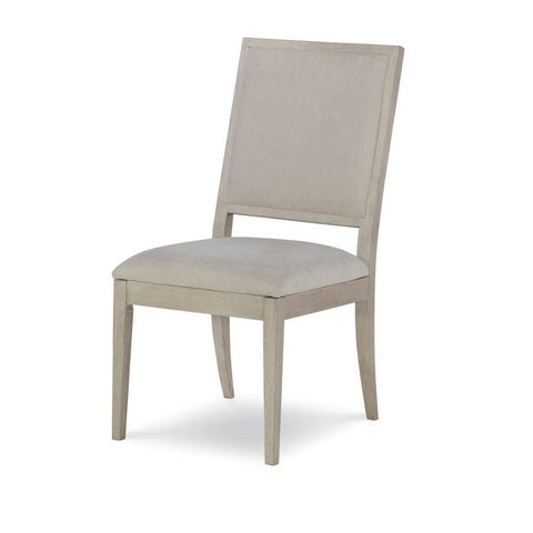 Legacy Rachael Ray Cinema Upholstered Side Chair in Shadow Grey