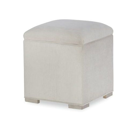 Legacy Rachael Ray Cinema Vanity Stool in Shadow Grey