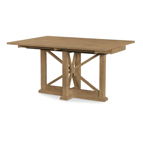 Legacy Rachael Ray Everyday Drop Leaf Console Table in Nutmeg