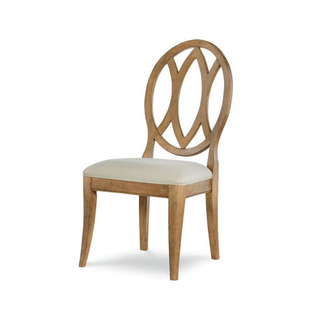 Legacy Rachael Ray Everyday Oval Back Side Chair in Nutmeg