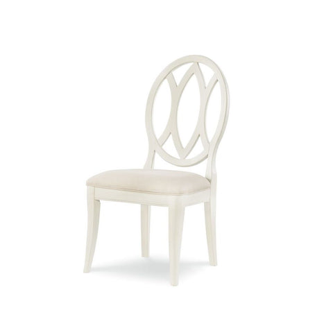 Legacy Rachael Ray Everyday Oval Back Side Chair in Sea Salt