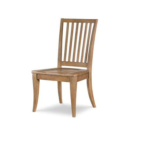 Legacy Rachael Ray Everyday Slat Back Side Chair in Nutmeg
