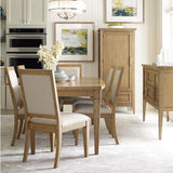 Legacy Rachael Ray Everyday 7 Piece Surfboard Leg Dining Room Set in Nutmeg