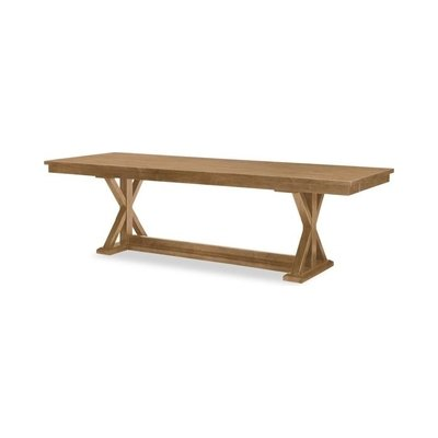Legacy Rachael Ray Everyday Trestle Dining Table in Nutmeg