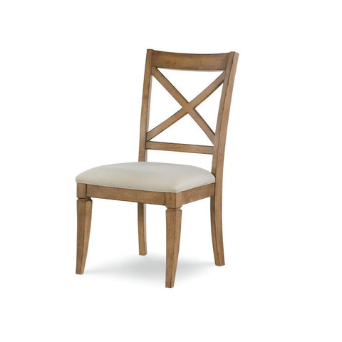 Legacy Rachael Ray Everyday X-Back Side Chair in Nutmeg