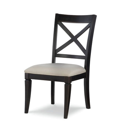 Legacy Rachael Ray Everyday X-Back Side Chair in Peppercorn