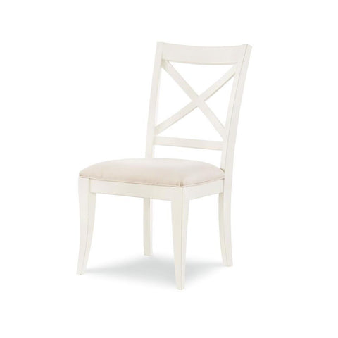 Legacy Rachael Ray Everyday X-Back Side Chair in Sea Salt