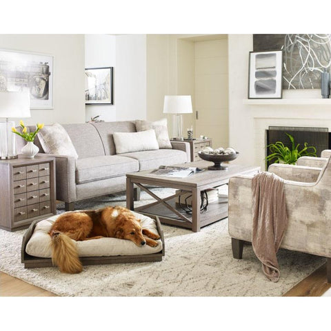 Legacy Rachael Ray High Line 3 Piece Coffee Table Set in Soothing Greige