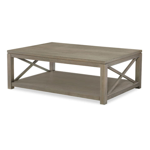 Legacy Rachael Ray High Line Cocktail Table in Soothing Greige