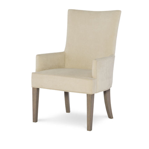 Legacy Rachael Ray High Line Upholstered Host Chair in Soothing Greige