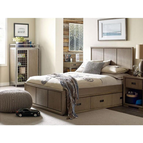 Legacy Rachael Ray Hudson 3 Piece Panel Bedroom Set