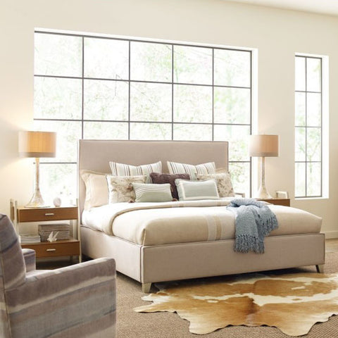 Legacy Rachael Ray Hygge 3 Piece Upholstered Bedroom Set in Cashmere