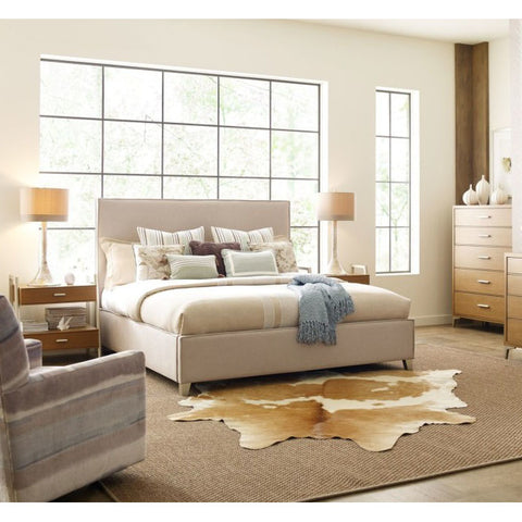 Legacy Rachael Ray Hygge 4 Piece Upholstered Bedroom Set in Cashmere