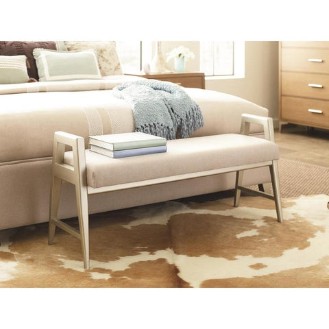Legacy Rachael Ray Hygge Bed Bench in Cashmere