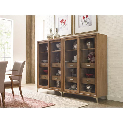 Legacy Rachael Ray Hygge Display Cabinet in Cashmere