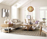 Legacy Rachael Ray Hygge 5 Piece Coffee Table Set in Cashmere