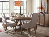Legacy Rachael Ray Monteverdi Upholstered Host Side Chair in Sun-Bleached Cypress