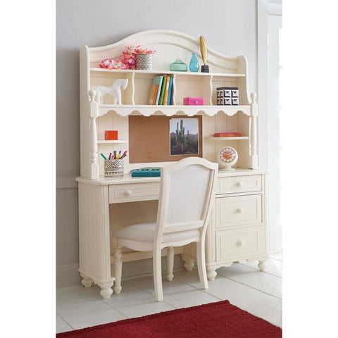 Legacy Summerset White Desk w/Hutch & Chair