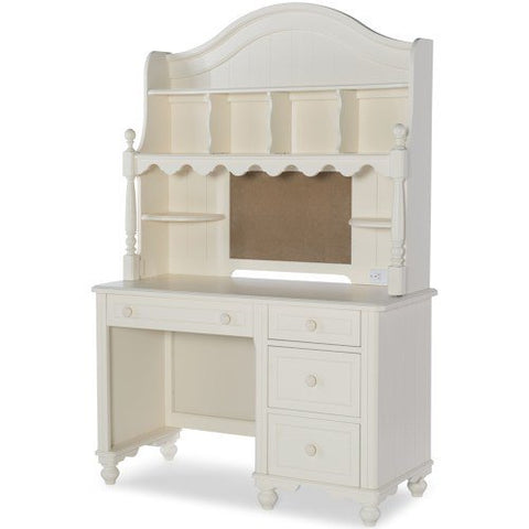 Legacy Summerset White Desk w/Hutch