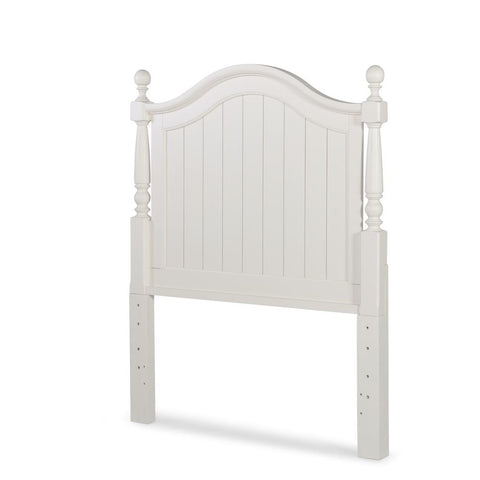 Legacy Summerset White Low Poster Bed