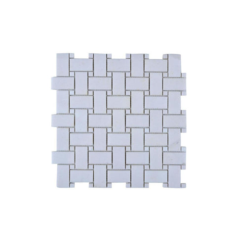 Legion Furniture MS06 Mosaic With Stone In Off White