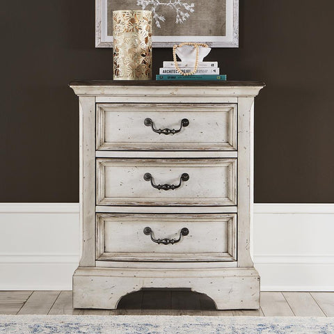 Liberty Abbey Road 3 Drawer Night Stand