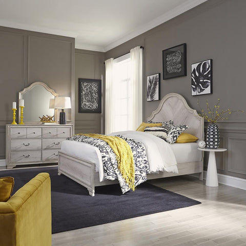 Liberty Amelia Court King California Panel Bed, Dresser & Mirror
