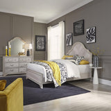 Liberty Amelia Court King Panel Bed, Dresser & Mirror
