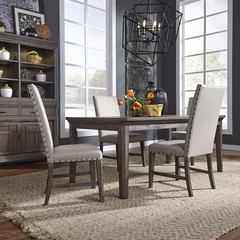 Liberty Artisan Prairie 5 Piece Rectangular Table Set