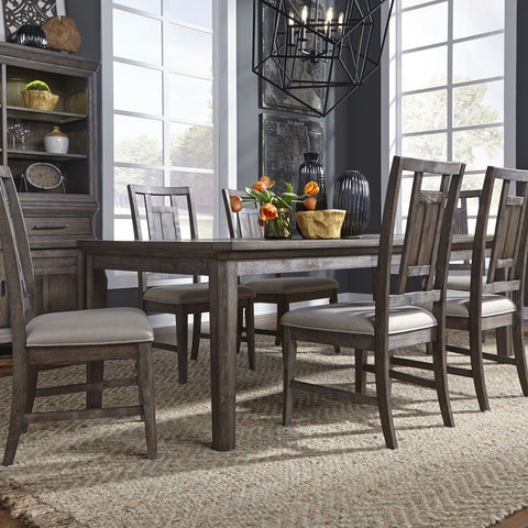 Liberty Artisan Prairie Opt 7 Piece Rectangular Table Set