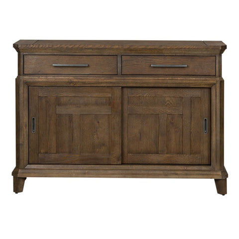 Liberty Artisan Prairie Sliding Door Buffet