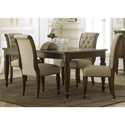 Liberty Cotswold 5 Piece Rectangular Dining Set In Cinnamon