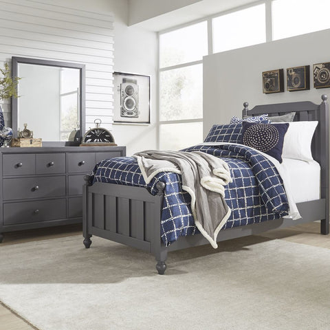 Liberty Cottage View Twin Panel Bed, Dresser & Mirror